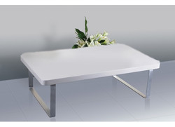 Accent Coffee Table – White