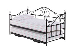 Florence Day Bed in Black