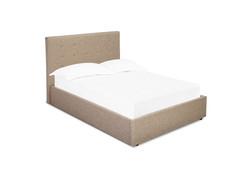 Lucca Kingsize Bed Beige