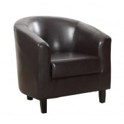 Tub Chair – Brown
