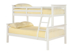 Otto Trio Bunk Bed – Off White