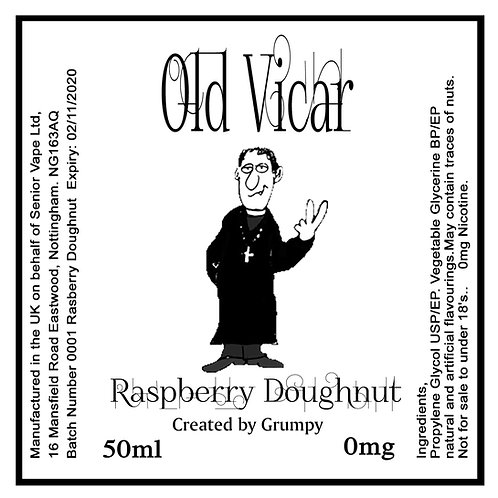 Old Vicar Raspberry Dougnut