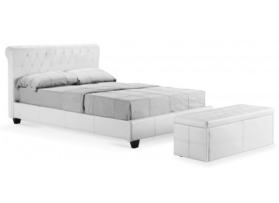 Amalfi Bed – White