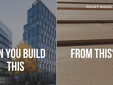 Can you build a skyscraper from wood?