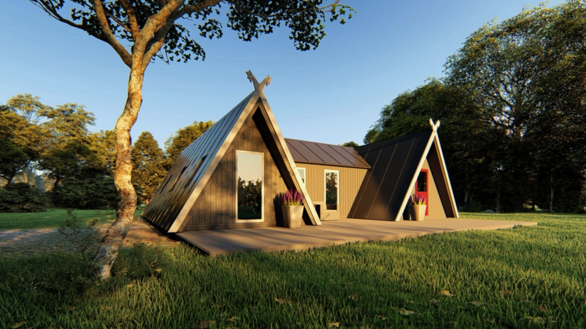 A-Frame Smart Wood Cyprus SOLO