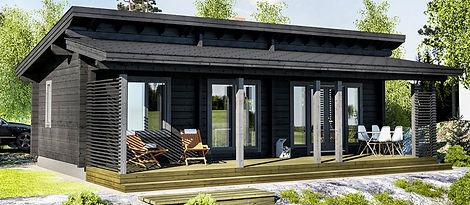 Smart Wood Cyprus log house
