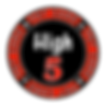 New High 5 Poker Chip PNG (1).png