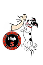 High5PetCareLogo-WhiteOutlineWithTranspa