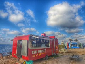 חיפה-משאיות אוכל