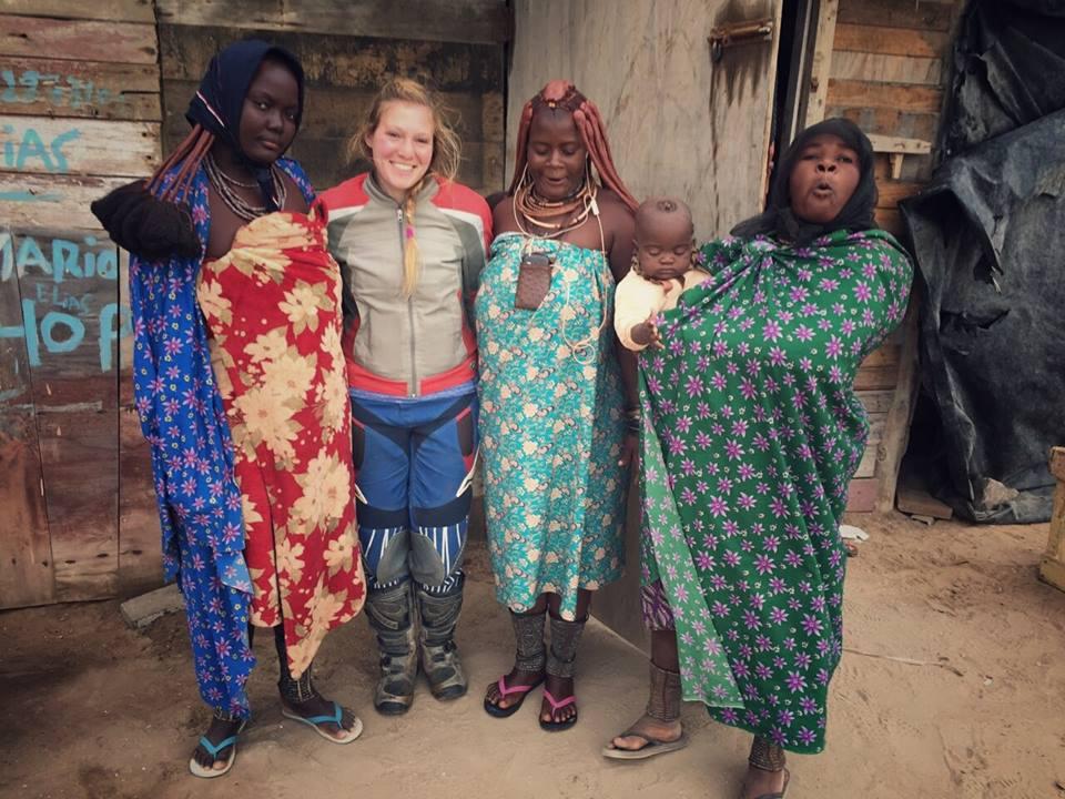 אחינועם הראל וחברים באפריקה