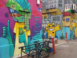 מרסיי-אמנות רחוב, צרפת