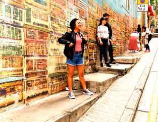 הונג קונג-אמנות רחוב