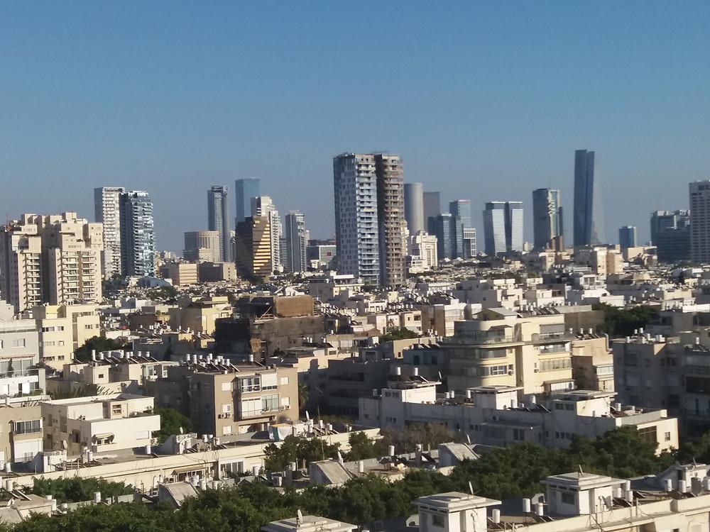 תצפית על תל אביב Tal by the beach-צלמה גילי מצא