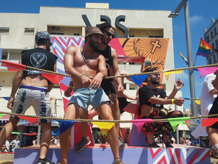 Tel Aviv pride parade 2017