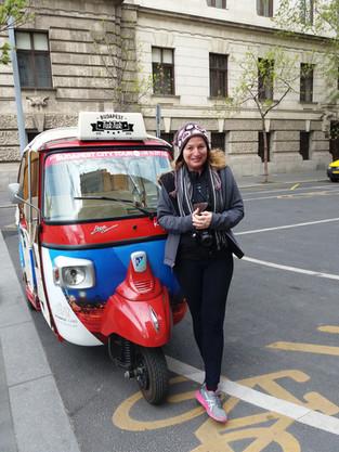 מטיילת לבד: טוק טוק בודפשט