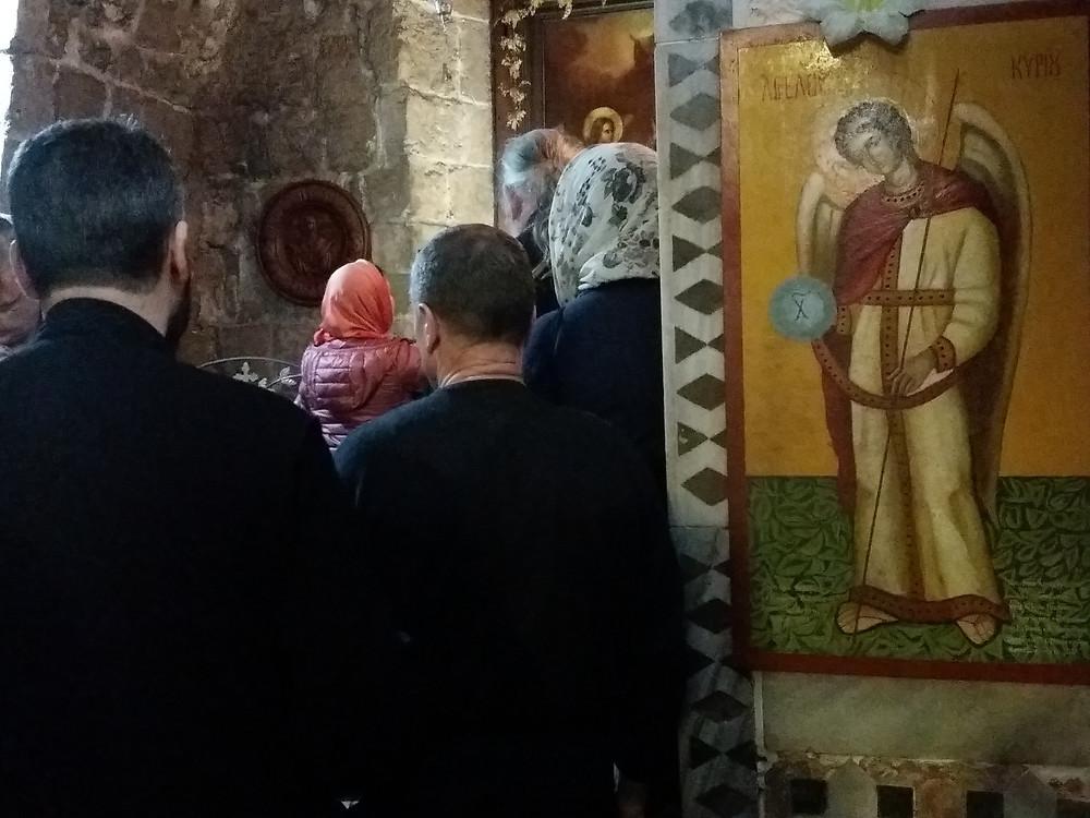 מיסה בכנסיה האורתודוכסית נצרת-צלמה גילי מצא