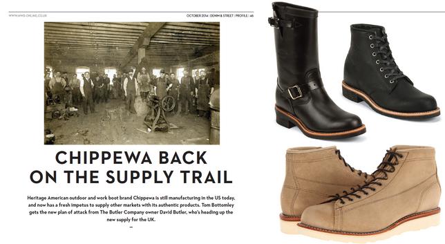 Chippewa Back on The Supply Trail