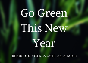 How Moms Can Easily Go Green This New Year