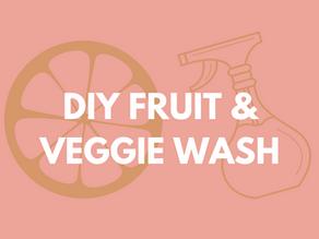 DIY OR BUY: HOW TO MAKE FRUIT & VEGGIE WASH