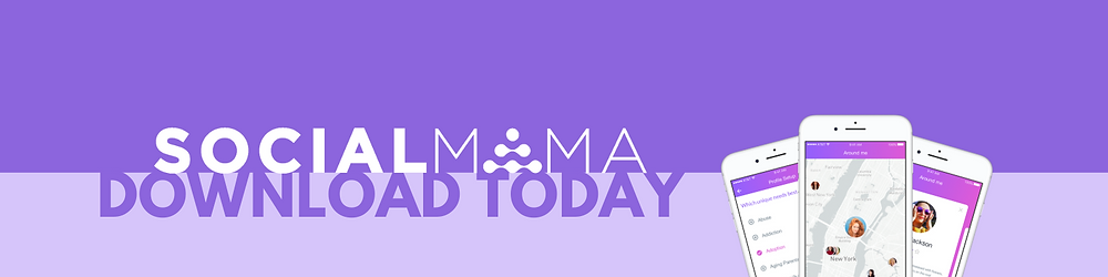 SocialMama connects mothers on their mobile platform