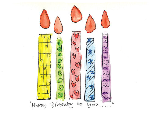 'Happy Birthday To You' Card
