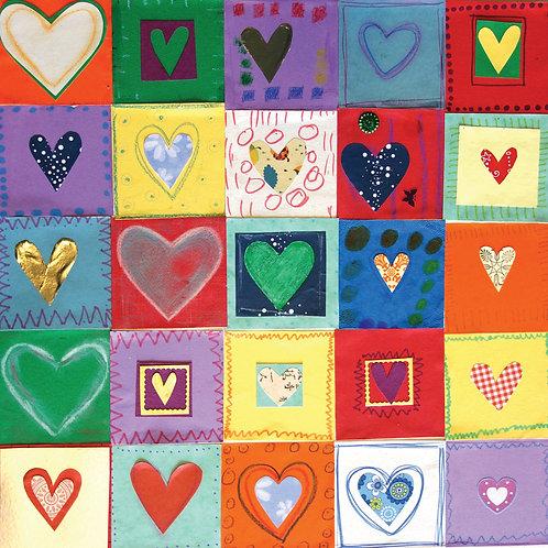 'Hearts' Card