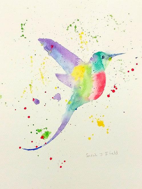 'Hummingbird' Card