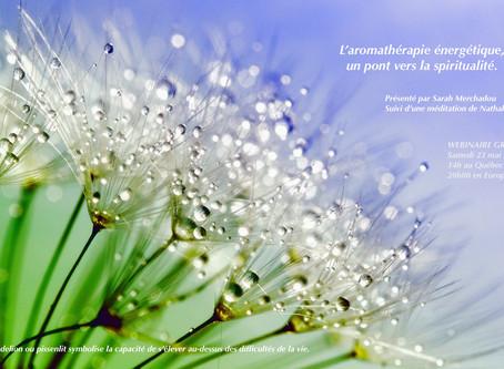 Aromathérapie énergétique, un pont vers la spiritualité.
