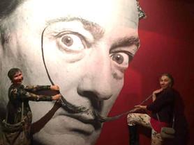 РКМД посещает выставку Сальвадора Дали в Москве