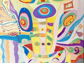 Графические работы Ирины Бйорно на выставках