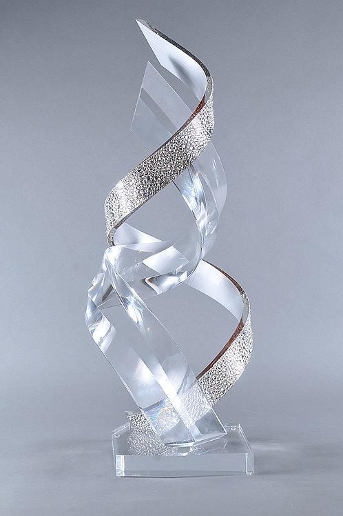 SWAROVSKI® Crystal + Acrylic Sculpture
