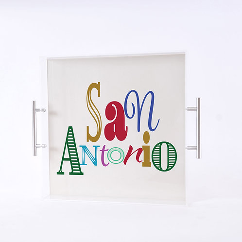 San Antonio Tray