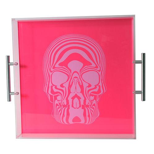 Skull Tray,Pink