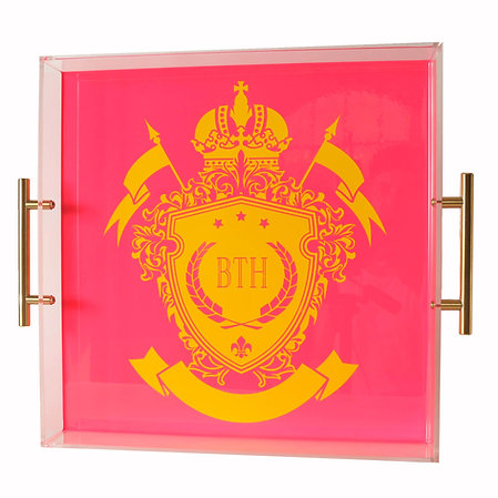 Personal Crest Tray
