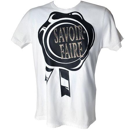 Savoir-Faire Stamp T, White