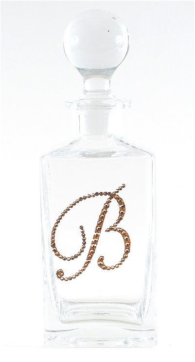 Monogram Decanter