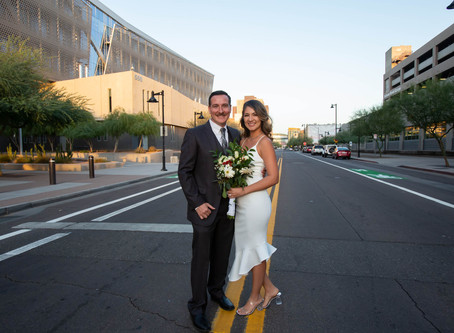 Landon & Yadira's Courthouse Wedding!