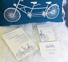 Thermography Wedding Invitation