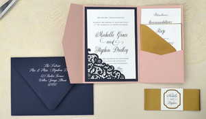 Pocket Folder Invitations