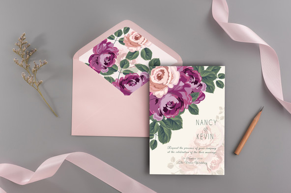 Wedding Envelope Liners