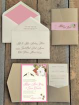 Pocket Folder Invitation