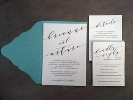 Script Wedding Invitations