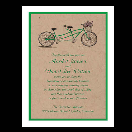 Bicycle Invitations Party Favors Decorations