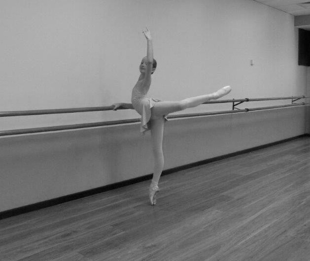 Pointe barre work
