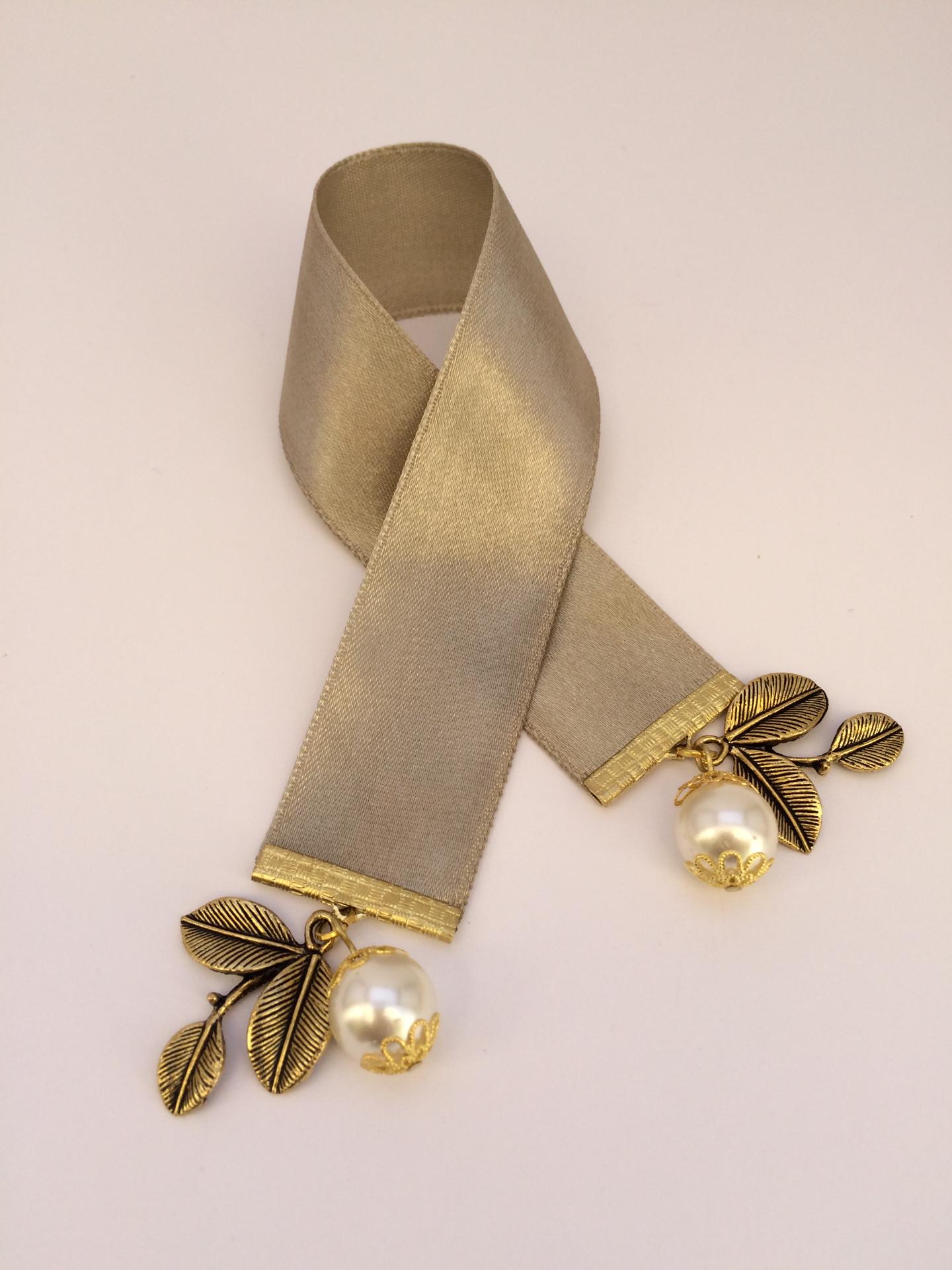 Greek satin ribbon