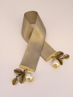 Greek satin ribbon