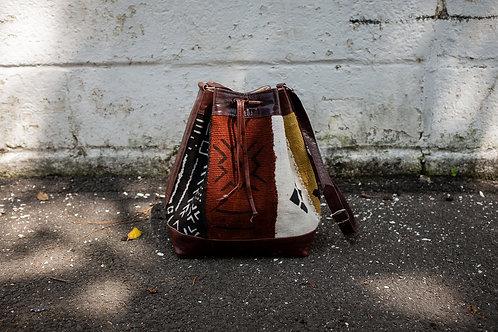 Voyager Bucket Bag in Bogolan Multi