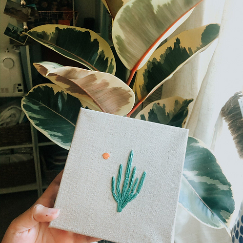 Simple Saguaro | Landscape Embroidery