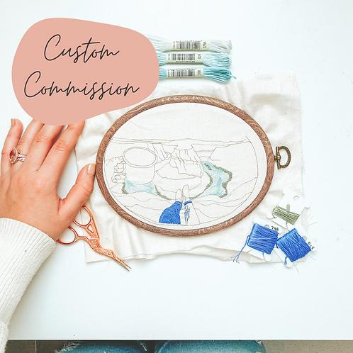 Custom Embroidery Waitlist Deposit