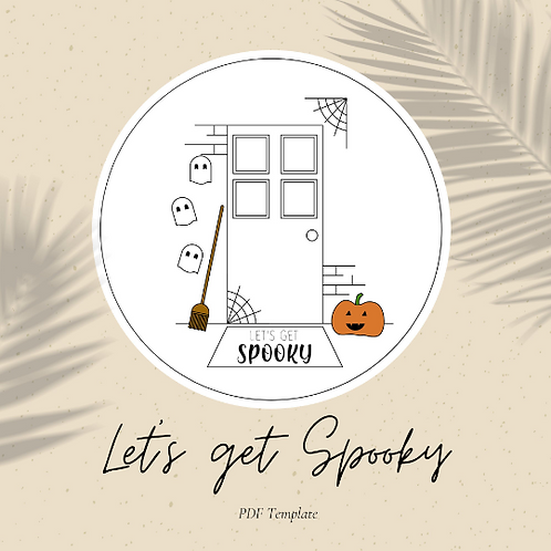 Let's Get Spooky - Embroidery PDF Pattern